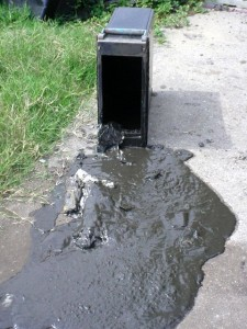 MUD AND MONEY: Some ATMs and night-drop boxes were a stew of muck / Photo: Property Management