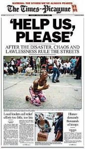 AGONY: Horrific conditions  / Photo: Times-Picayune